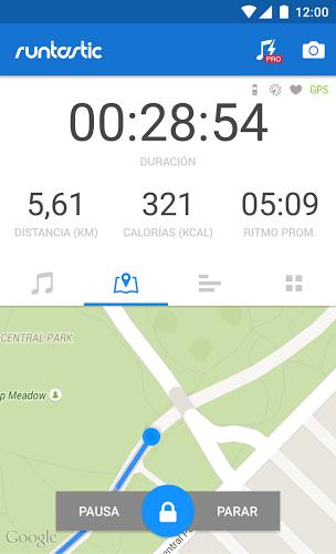 Runtastic GPS Running 1