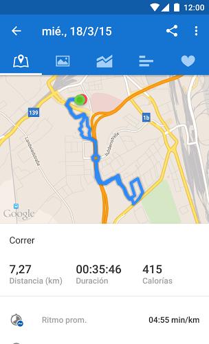 Runtastic GPS Running 3
