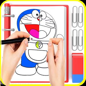 😍 Aprender dibujo Doraemon