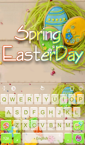 Spring Easter Day Keyboard 2