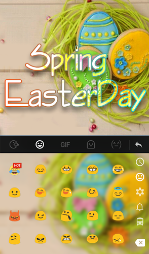 Spring Easter Day Keyboard 3