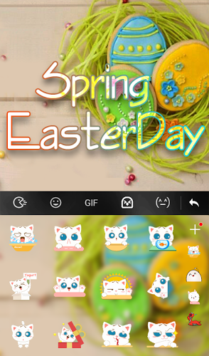 Spring Easter Day Keyboard 5