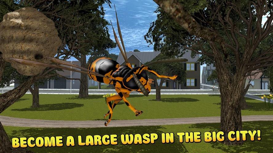 Ciudad de insectos Avispa 3D 1