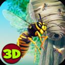 Ciudad de insectos Avispa 3D