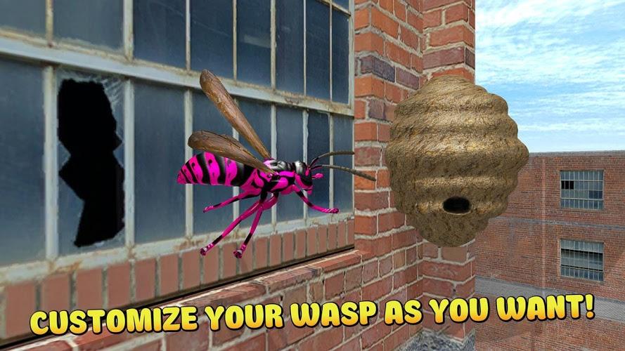 Ciudad de insectos Avispa 3D 4