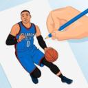 Dibujar baloncesto 3D