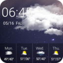 Weather Forecast Clock Widget APK