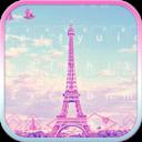 Lavanda París Torre Teclado