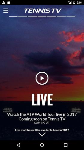 Tennis TV – Live ATP Streaming 2