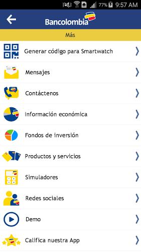 Bancolombia App Personas 5