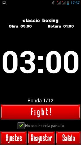 Cronometro para Boxeo 1