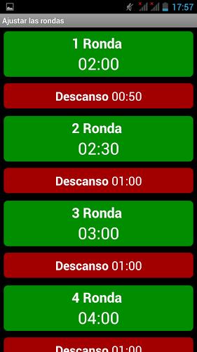 Cronometro para Boxeo 3