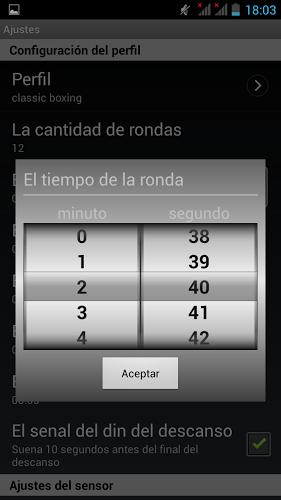 Cronometro para Boxeo 4