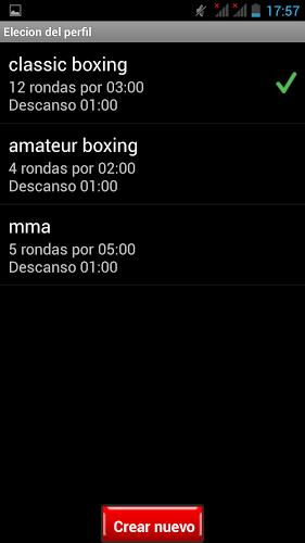 Cronometro para Boxeo 5