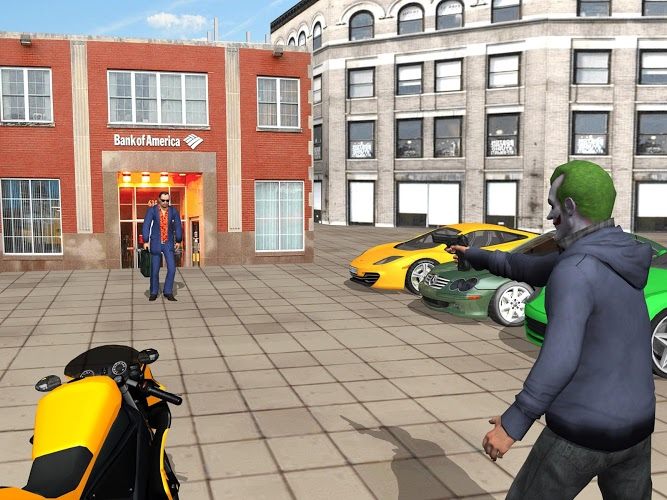 Gran Ciudad Crimen Gangster 5
