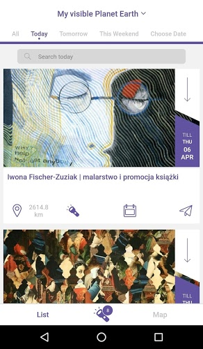 Invisible City – cultural app 3