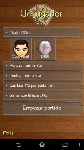 La Brisca – versión española 3