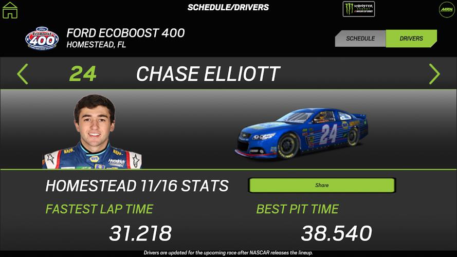 NASCAR RACEVIEW MOBILE 1