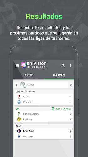 Univision Deportes: Liga MX, MLS, Fútbol En Vivo 5