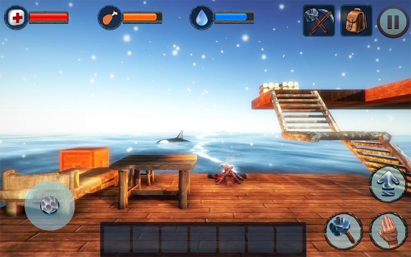 Winter Survival On Raft 3D 1