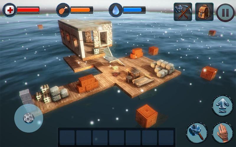 Winter Survival On Raft 3D 3