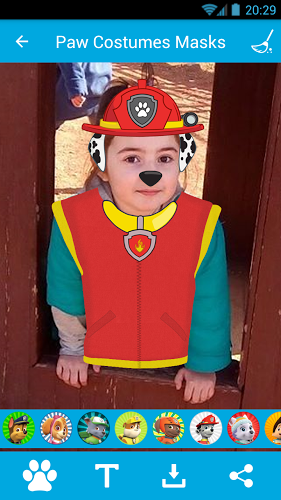 Costumes & Masks for PawPatrol 1