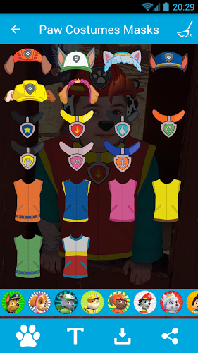 Costumes & Masks for PawPatrol 2