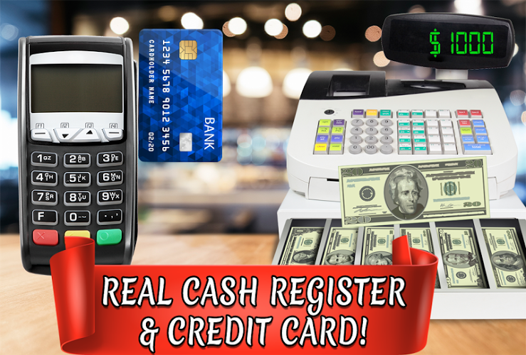 Credit Card Cash Register Simulator – Money Games 2