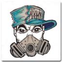 Dibujo Personajes de Graffiti