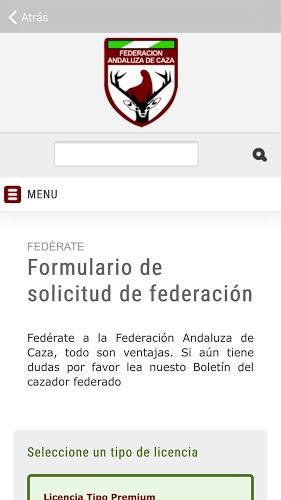 Federación Andaluza de Caza 2