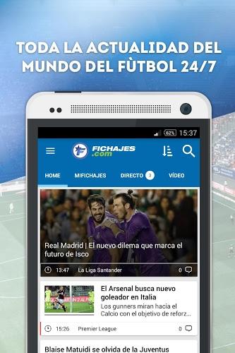 Fichajes fútbol: mercado, resultados, directo 1