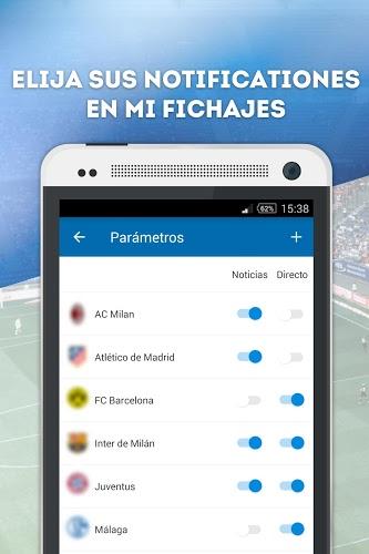 Fichajes fútbol: mercado, resultados, directo 3