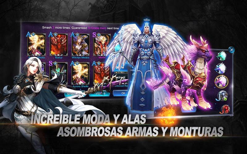 Goddess: Primal Chaos – Español 3D Action MMORPG 4