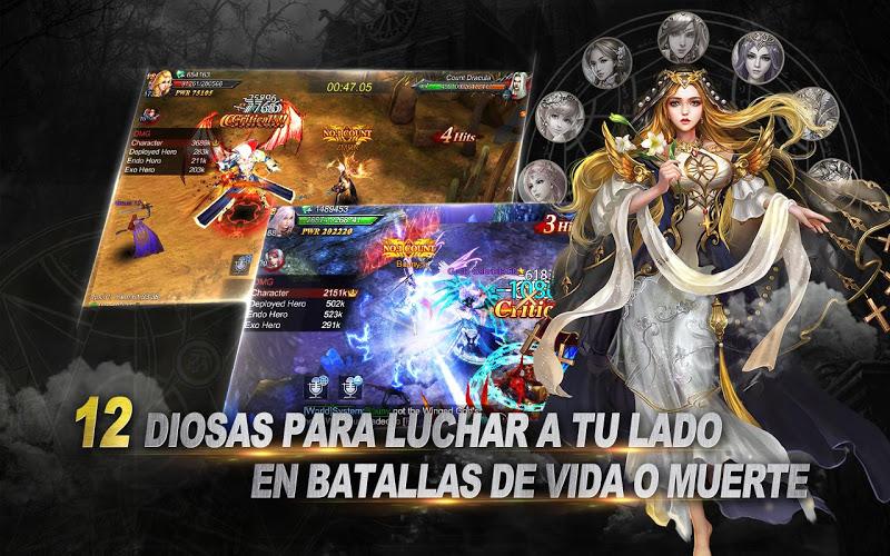 Goddess: Primal Chaos – Español 3D Action MMORPG 5