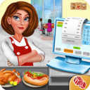 High School Cafe Cashier Girl – Kids Game