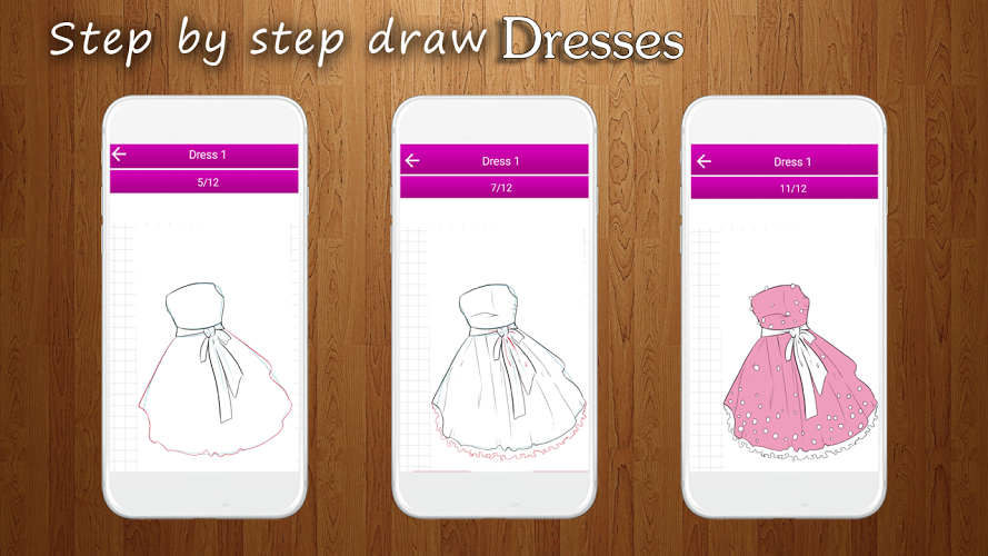 How to Draw Dresses 1
