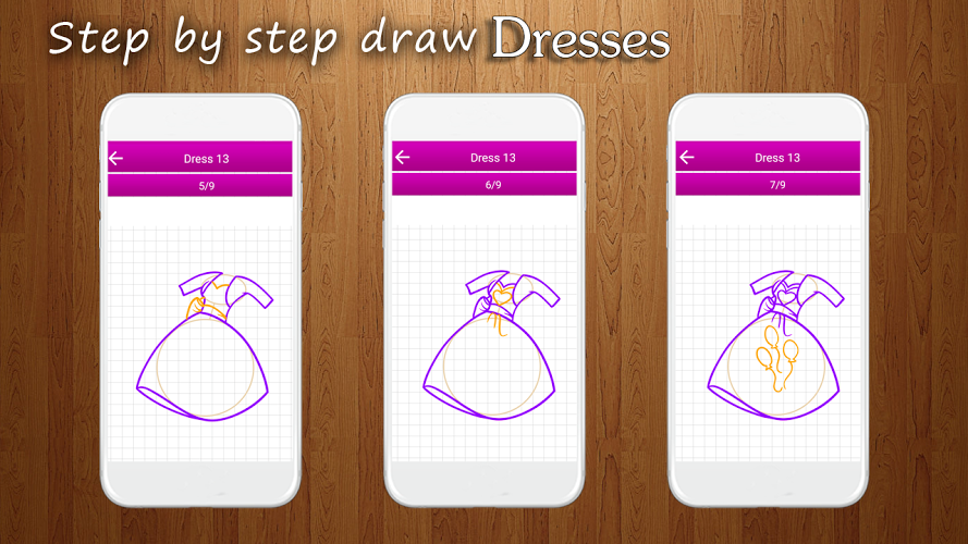 How to Draw Dresses 2