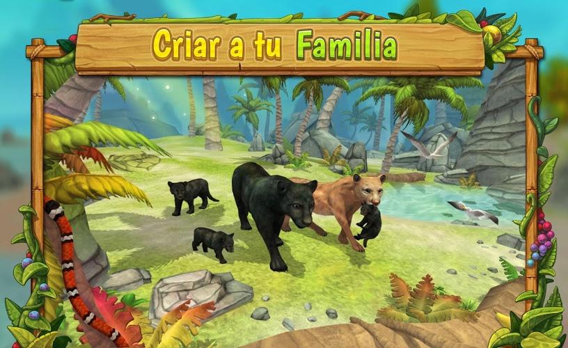 Pantera Simulador De Familia : Jugar Online 1
