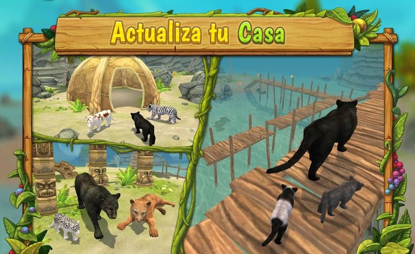 Pantera Simulador De Familia : Jugar Online 3
