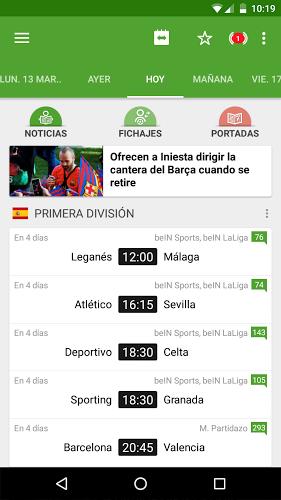 Resultados de Fútbol 1