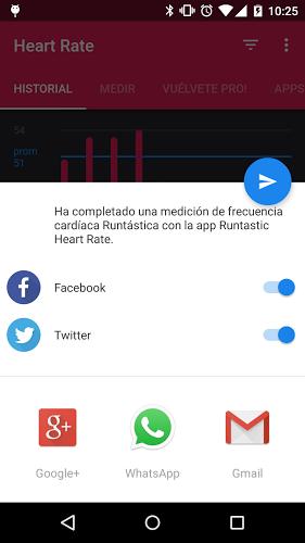 Runtastic Heart Rate: Corazón 4