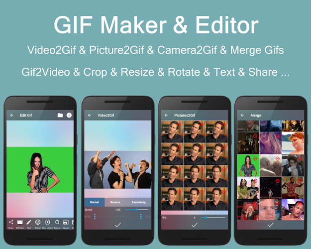 Video2me: GIF Maker & Video Editor & Video to GIF 3