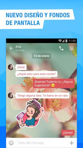 Videollamadas y mensajería 2
