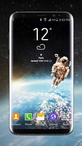 Weather Widget Galaxy S8 Plus 2