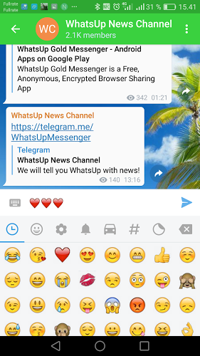 WhatsUp Messenger Tablet 4