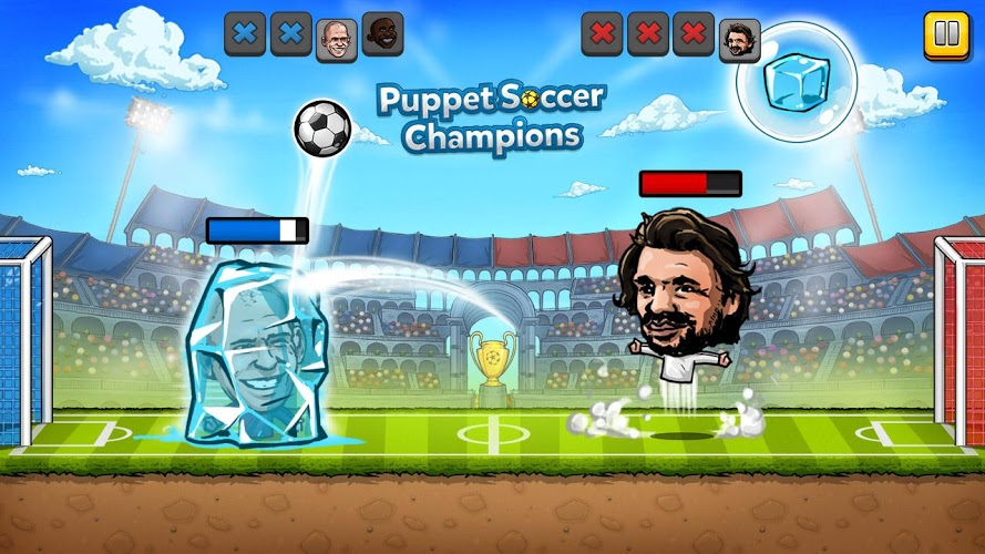 Puppet Soccer Champions – Fighters League 3