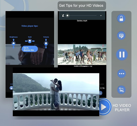 3GP/MP4/AVI HD Video Player 1
