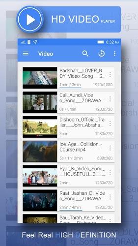 3GP/MP4/AVI HD Video Player 4