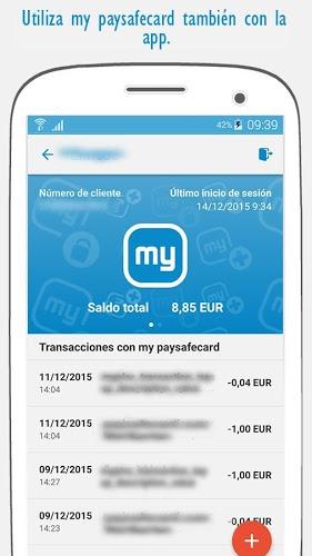 App de paysafecard 2