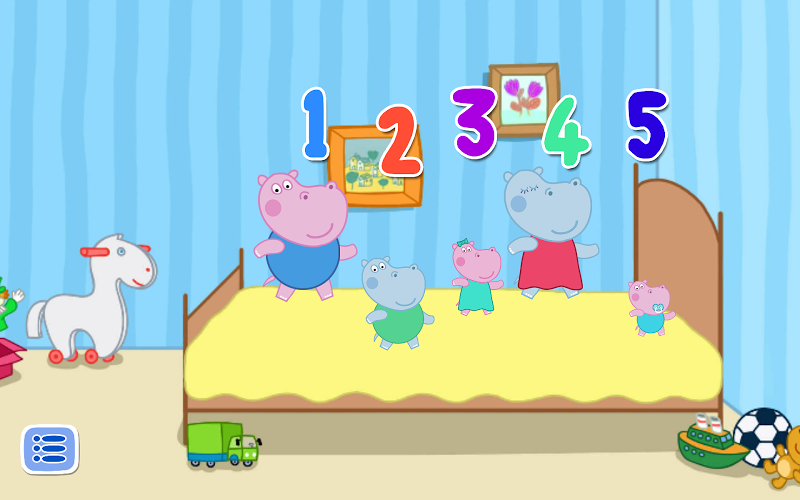 Cinco pequeños monos 1